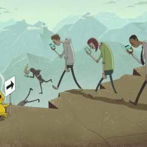 Corri corri c'è il POKEMON GO! Un'ammasso di LETAME che merita lo sterminio quantoprima!!