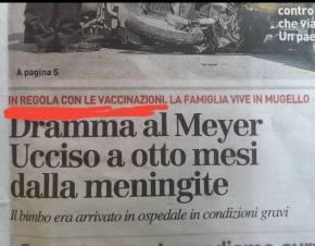 VACCINI: Bimbo IPER-VACCINATO di 8 mesi ucciso dallameningite!
